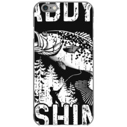 daddy's fishing buddy shirt   fisher.man fishing with dad iPhone 6/6s Case | Artistshot