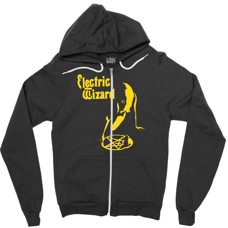 Electric Wizard Doom Stoner Psych Pentagram Zipper Hoodie | Artistshot