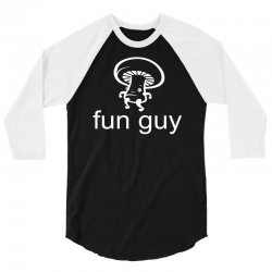 fun guy mushroom 3/4 Sleeve Shirt | Artistshot