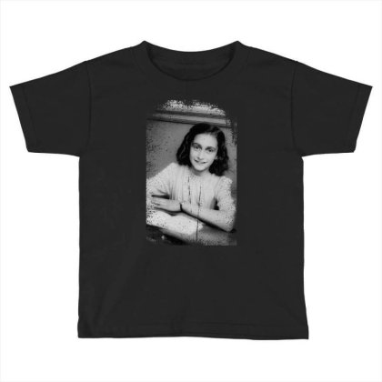 Annefrank Toddler T-shirt Designed By Turquoise