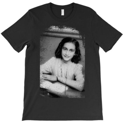 Annefrank T-shirt Designed By Turquoise