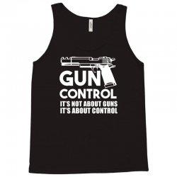 gun control Tank Top   Artistshot