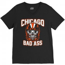 chicago bad ass V-Neck Tee | Artistshot