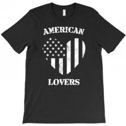 american lovers T-Shirt   Artistshot