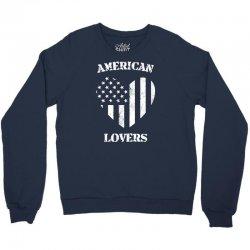 american lovers Crewneck Sweatshirt   Artistshot