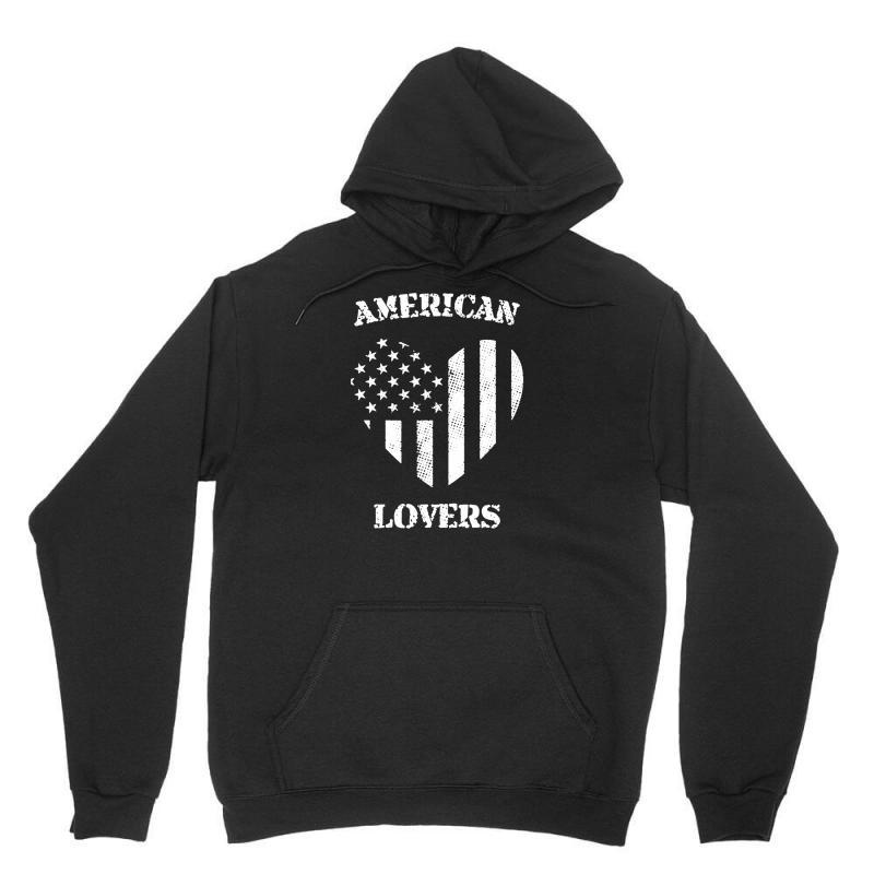 American Lovers Unisex Hoodie   Artistshot
