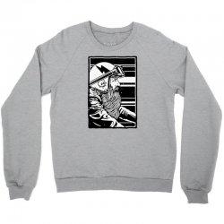 beard and ride Crewneck Sweatshirt   Artistshot