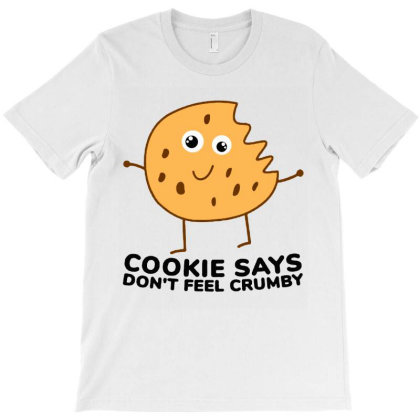 Chip The Cookie T-shirt Designed By Jurdex Tees