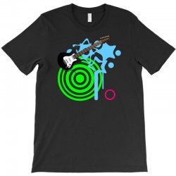 guitar retro music T-Shirt | Artistshot