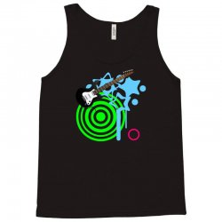 guitar retro music Tank Top | Artistshot
