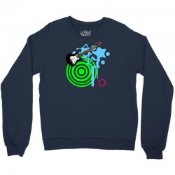 guitar retro music Crewneck Sweatshirt | Artistshot