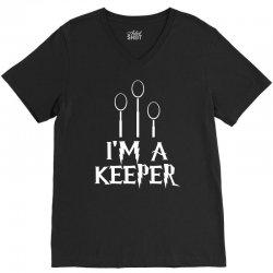 i am a keeper V-Neck Tee | Artistshot