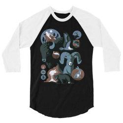 wild animals 3/4 Sleeve Shirt   Artistshot