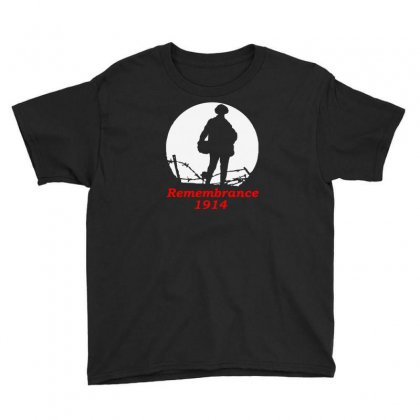 1914 Remembrance Youth Tee Designed By Aheupote