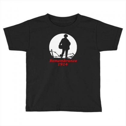 1914 Remembrance Toddler T-shirt Designed By Aheupote