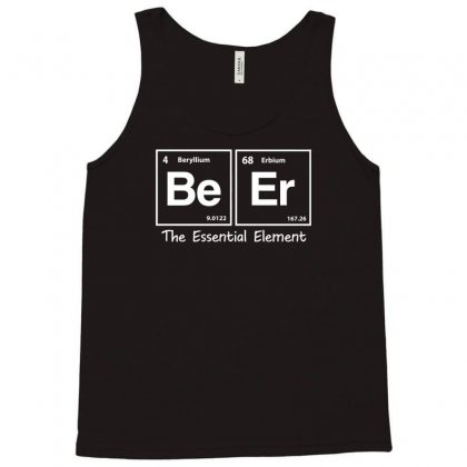 Elements Of Beer Tank Top Designed By Gematees