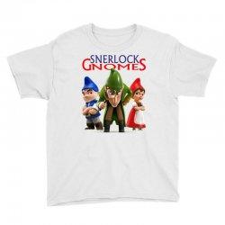 Sherlock Gnomes Youth Tee   Artistshot