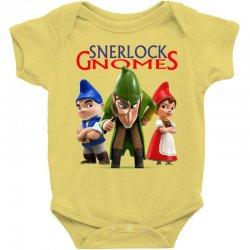 Sherlock Gnomes Baby Bodysuit   Artistshot