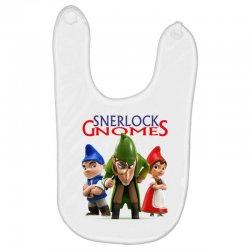 Sherlock Gnomes Baby Bibs   Artistshot