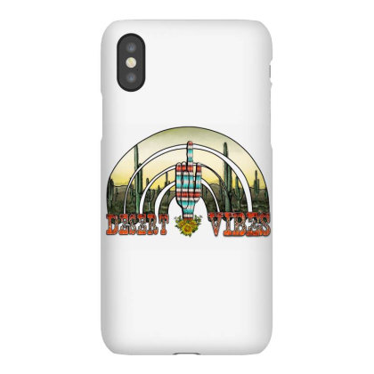 Desert Vıbes Rainbow Iphonex Case Designed By Badaudesign