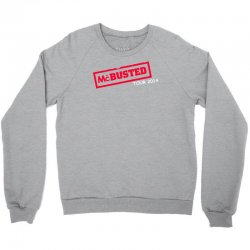 mcbusted tour 2014 hooded top busted Crewneck Sweatshirt | Artistshot