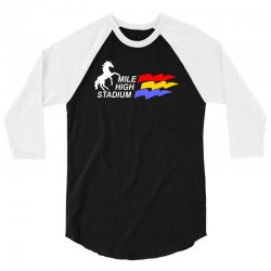 mile high stadium 3/4 Sleeve Shirt | Artistshot