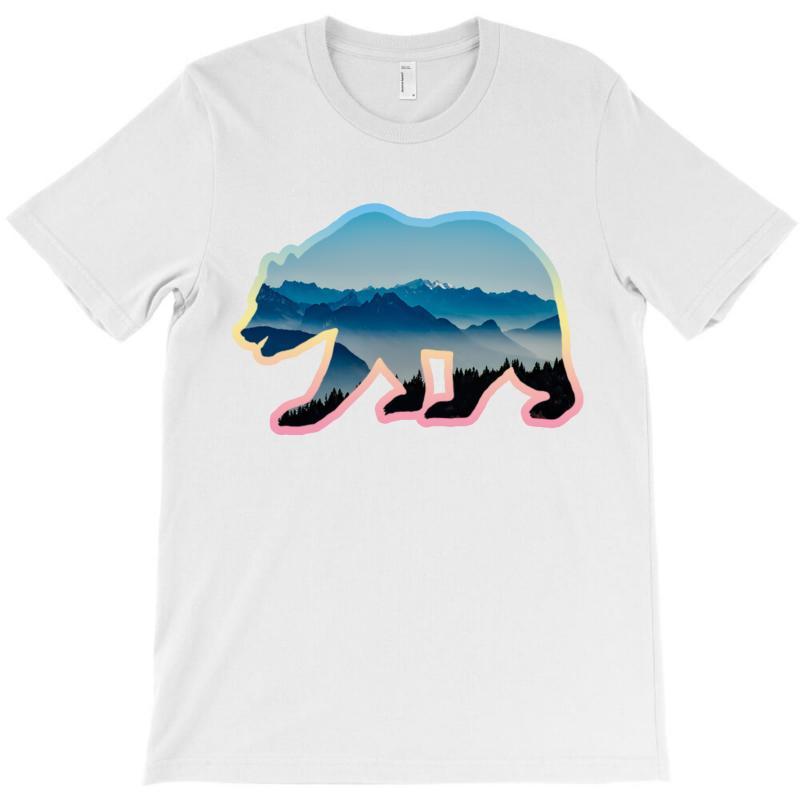 Wild Bear T-shirt | Artistshot