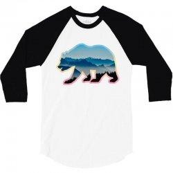 wild bear 3/4 Sleeve Shirt | Artistshot