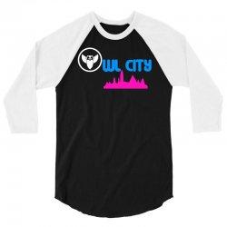 owl city retro 3/4 Sleeve Shirt | Artistshot