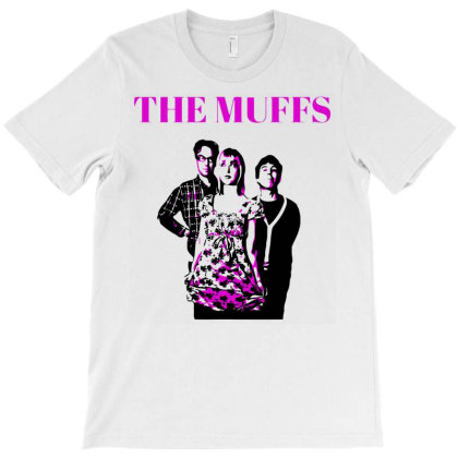 The Muffs T-shirt Designed By Bruceacostas