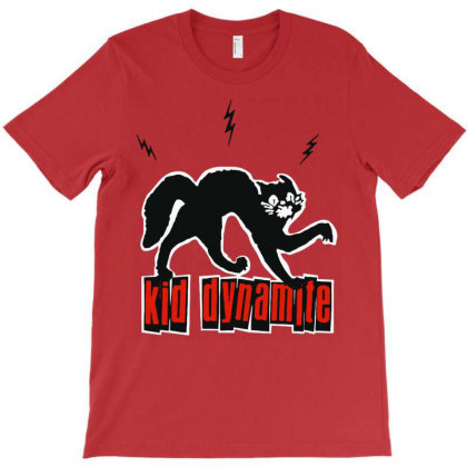 Kid Dynamite T-shirt Designed By Bruceacostas