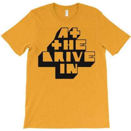 At The Drive In T-shirt Designed By Susanckittrell