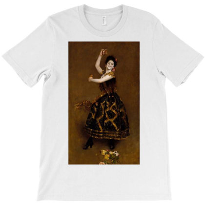 Carmencita T-shirt Designed By Barrettydelgado
