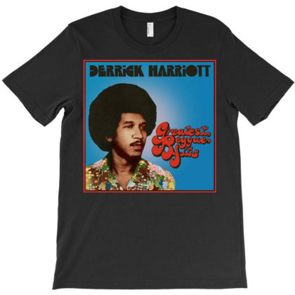 Derrick Harriott Createst Reggae Hits T-shirt Designed By Tressakcoffey