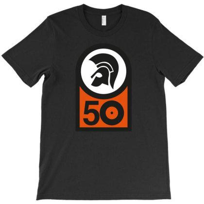 50 Years Trojan T-shirt Designed By Falldeals