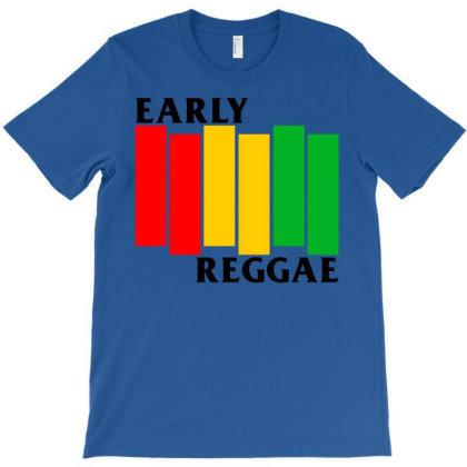 Early Reggae Flag T-shirt Designed By Nadirsungga