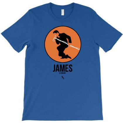 James Sex Machine T-shirt Designed By Nadirsungga