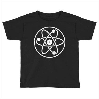 Atomic Atom Symbol Toddler T-shirt Designed By Vetor Total