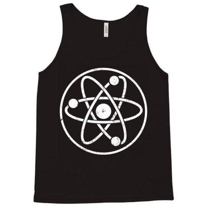 Atomic Atom Symbol Tank Top Designed By Vetor Total