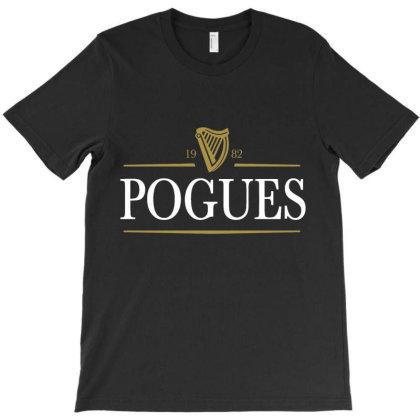 The Pogues 1982 T-shirt Designed By Jonesiana