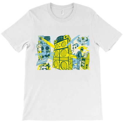 Reggae Sound Systems T-shirt Designed By Jonesiana