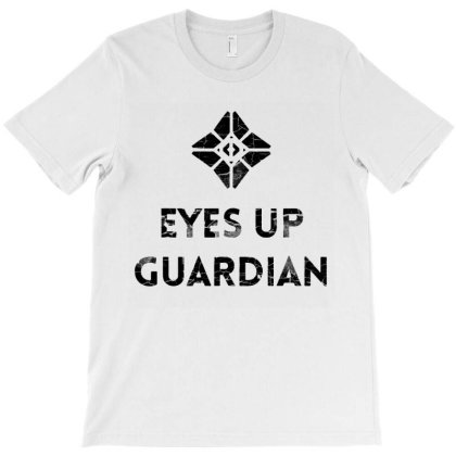 Eyes Up Guardian T-shirt Designed By Jurdex Tees
