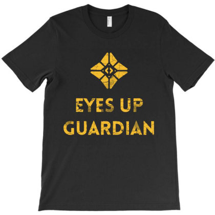 Ghost Eyes Up Distressed T-shirt Designed By Jurdex Tees