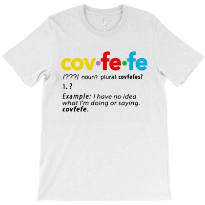 Cov Fe Fe T-shirt Designed By Jurdex Tees