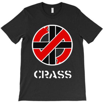 Crass Anarcho Punk Rock T-shirt Designed By Jurdex Tees