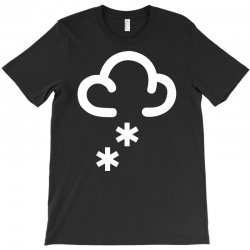 snow weather symbol T-Shirt | Artistshot