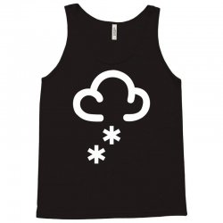 snow weather symbol Tank Top | Artistshot