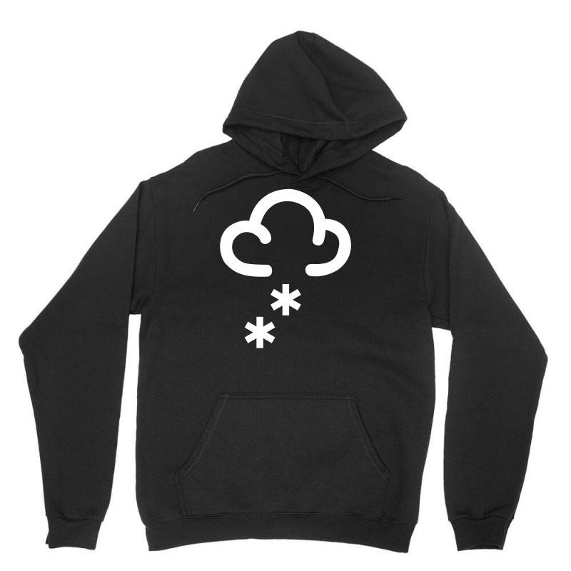Snow Weather Symbol Unisex Hoodie | Artistshot