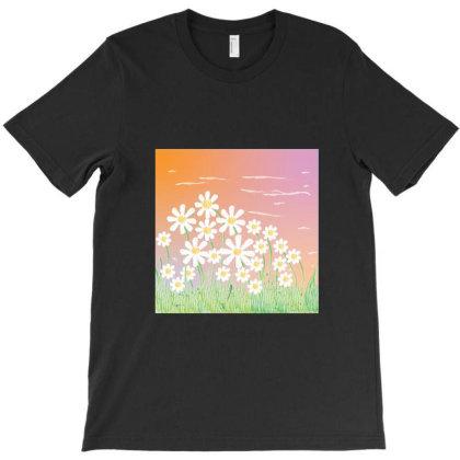 Lilac Sky T-shirt Designed By Ekphrastic_art