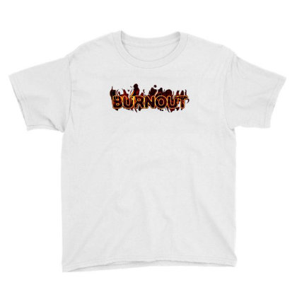 Burnout Youth Tee Designed By Tagshirts